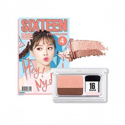 _16 Brand_ 16 Eye Magazine eyeshadow _korea cosmetics